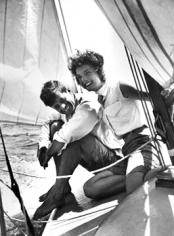Hy Peskin,  John F. and Jackie Kennedy Sailing,