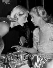 Slim Aarons, C.Z. Guest with Consuelo Vanderbilt, Palm Beach, circa 1955