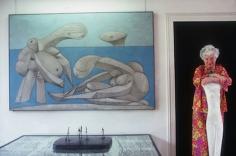 Slim Aarons, Peggy Guggenheim in the Palazzo Venier Dei Leoni, Venice, 1978