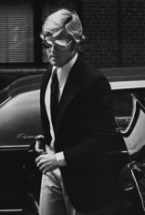 Ron Galella, Robert Redford arriving at Mary Lasker's apartment, New York, 1974