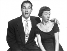 Philippe Halsman, Sid Caesar and Imogene Coca, 1951