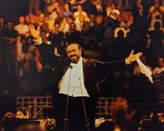 George Kalinsky, Luciano Pavarotti, August 16, 1984