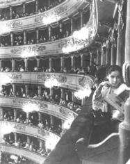 Alfred Eisenstaedt,  Premiere at La Scala, Milan, Italy