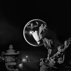 Melvin Sokolsky, Pont Alexandre III, Night, Paris, 1963