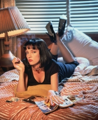 "Firooz Zahedi, Uma Thurman in ""Pulp Fiction"", 1994"