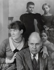 Louise Dahl-Wolfe, Edward Hopper and Wife, Washington Square Studio, 1933