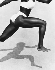 Herb Ritts, Jackie Joyner-Kersee, Point Dume, 1987