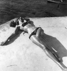 Toni Frissell, The First Bikini, 1946