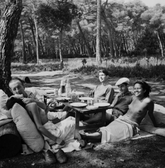 Lee Miller, Picnic, Mougins, 1937