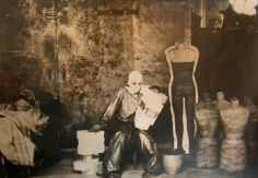 Deborah Turbeville, For Charles Jourdan: Beverly in Betsey Johnson, Woolf Form Dummy Factory in New York, 1974