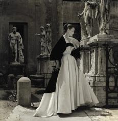 Genevieve Naylor, Dorian Leigh in Veneziani, Rome, Harper's Bazaar, 1952