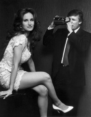 Ron Galella, Bridget Marks and Donald Trump, United Nations Plaza Hotel, New York, 1993