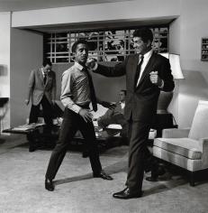 Sid Avery, Sammy Davis Jr., and Dean Martin,1960
