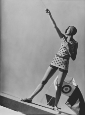 George Hoyningen-Huene, Swimwear by Lanvin with Kite, 1928