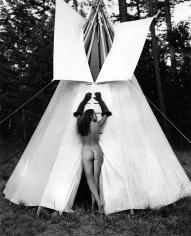 Kurt Markus, Cynthia Antonio for Mirabella Magazine, Flathead Valley, Montana, 1994