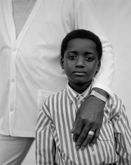 Kurt Markus, Boy in Striped Shirt, Vicksburg, Mississippi, 1988