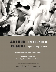 Arthur Elgort, Exhibition Invitation
