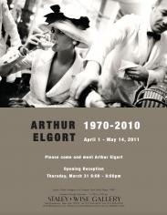 Arthur Elgort, Exhibition Invitation
