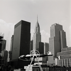 Melvin Sokolsky Yoga Wheel, New York, Harper's Bazaar, 1962