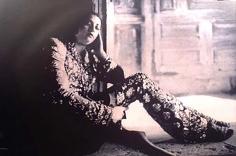 Deborah Turbeville, Portrait of Mexican Girl, Gianni Versace Toreador Suit, Posos, Mexico, Italian Vogue, 1998