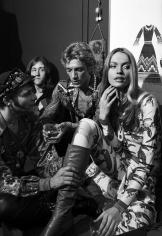 Harry Benson, Veruschka, Giorgio Sant'Angelo, and Ara Gallant, New York, 1977