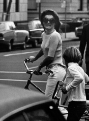 Ron Galella, Jackie Kennedy and John Kennedy, Jr., New York, 1969