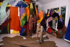 Harry Benson, Alexander and Tatiana Liberman, 1986