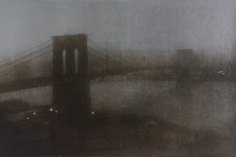 Sheila Metzner, Brooklyn Bridge. Hokusai Series. 2007
