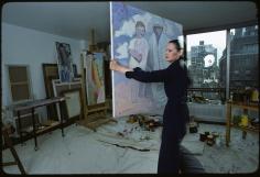 Susan Wood, Gloria Vanderbilt, 1976