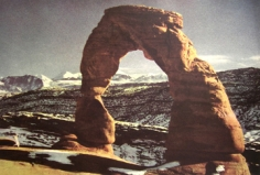 Shelia Metzner, Arched Rock, From Life, 2002
