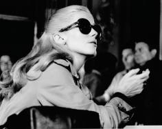 "Peter Basch, Catherine Deneuve on the set of ""La Chamade,"" Paris, 1962"