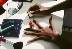 Harry Benson, Iman's Hands, New York, 1982