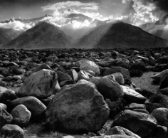 Ansel Adams, Mount Williamson,  Sierra Nevada, from Manzanar, California, 1944