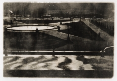 "Deborah Turbeville, The Parterre du Midi at Versailles, from ""Unseen Versailles"", 1980"