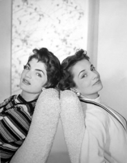 Horst P. Horst, Jacqueline Bouvier and her sister Lee, New York, 1958