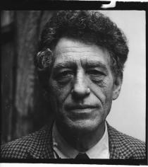 Herbert Matter, Portrait of Alberto Giacometti, 1960