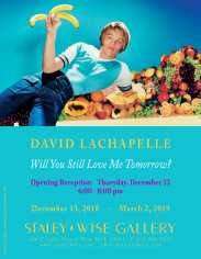 David LaChapelle, Exhibition Invitation