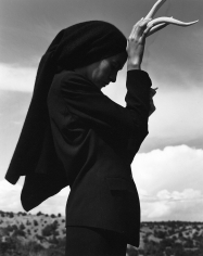 Kurt Markus For German ELLE, Cynthia Antonio, Santa Fe, New Mexico, 1990