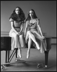 Arthur Elgort, Leslie and Melinda Roy, The New York City Ballet, 1979