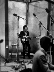 "Daniel Kramer, Bob Dylan at ""Like a Rolling Stone"" Session, Columbia Records, New York, 1965"