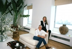 Harry Benson, Ralph and Ricky Lauren in their Apartment, New York,1983