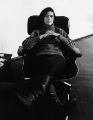 Daniel Kramer, Susan Sontag at her apartment on the Upper West Side, New York, 1968