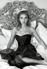 Patrick Demarchelier, Scarlett Johansson, British VOGUE, New York, 2006