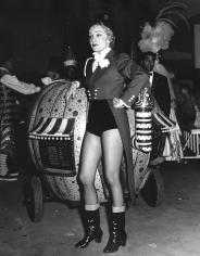 Ormond Gigli, Marlene Dietrich, The Circus, New York, 1962