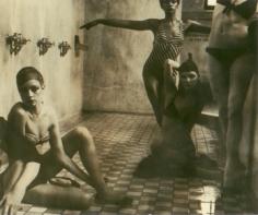Deborah Turbeville, Bath House, New York, American VOGUE, 1975