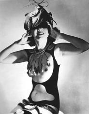 """Horst P. Horst, Costume Designed for """"The Dream of Venus"""" by Salvador Dali, 1939"""