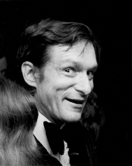 "Ron Galella, Hugh Hefner, Playboy Party for ""Macbeth"", New York, 1971"