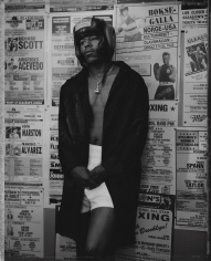 Kurt Markus, Sammy Mitchell, Gleason's Gym, Brooklyn, New York, 1990