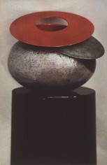 Sheila Metzner, Double Wing. Dunand Vase. 1985
