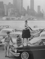 Rico Puhlmann, Lissy on Governor's Island, New York, 1960
